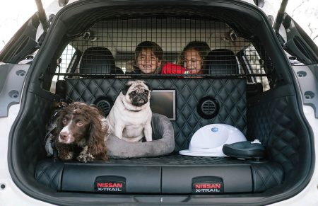 Une voiture 100% pet friendly : le Nissan X Trail 4 Dogs