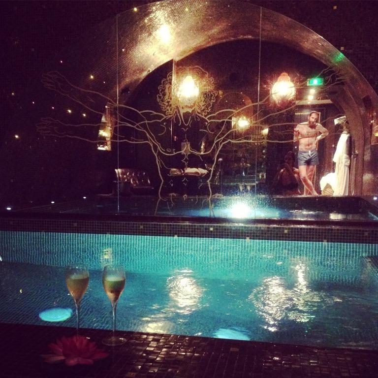 L 39 h tel da vinci paris piscine privative et animaux - Hotel avec piscine pres de paris ...