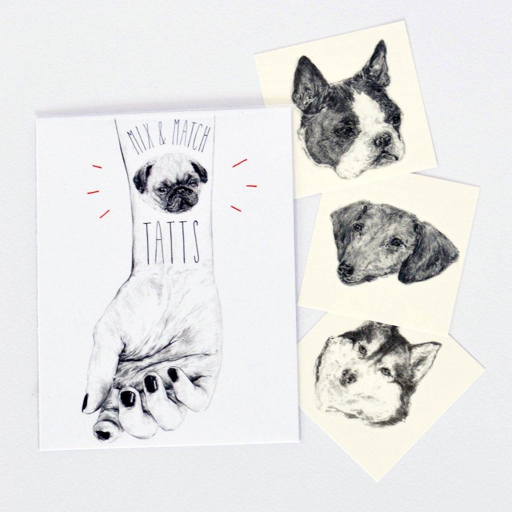 tatouage-chien-cadeau-noel