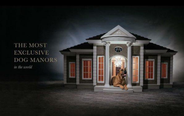 luxe pour chien - niche de luxe et château hecate verona