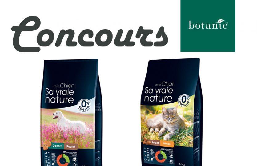 Concours Sa Vraie Nature : des croquettes pour chien ou chat à gagner