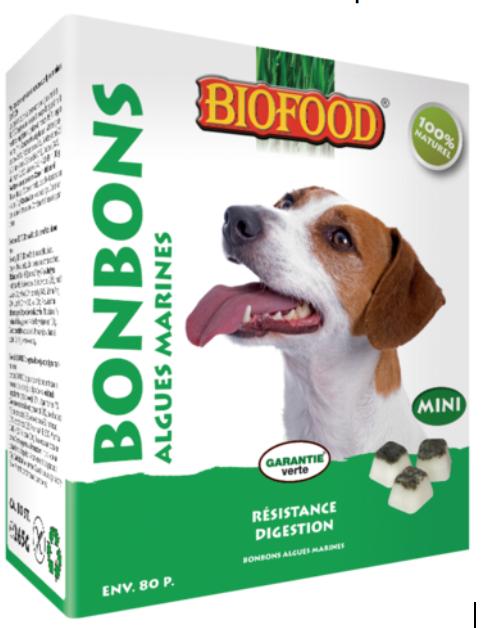 friandises pour chien biofood