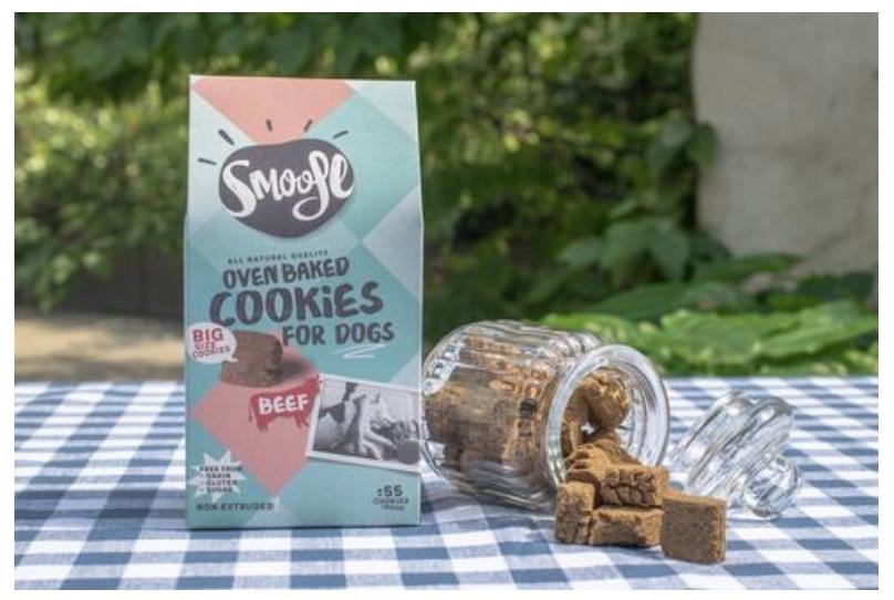 biscuits pour chiens naturels de chez Smoofl